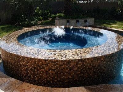 Gunite Pools MMG Water Blue Beadcrete